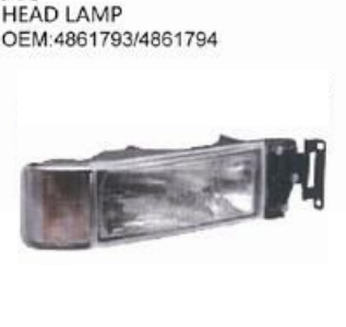 IVECO EUROTECH TRUCK HEAD LAMP OEM 4861793 4861794