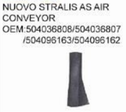 IVECO NUOVO STRALIS AS AIR CONVEYOR oem 504036808/504036807/504096163/504096162